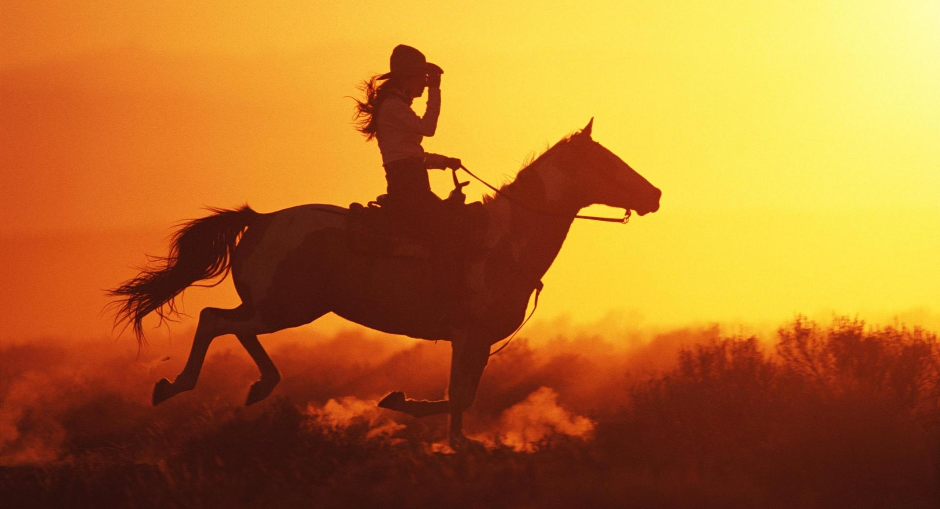 Girl On Horse wallpapers HD quality