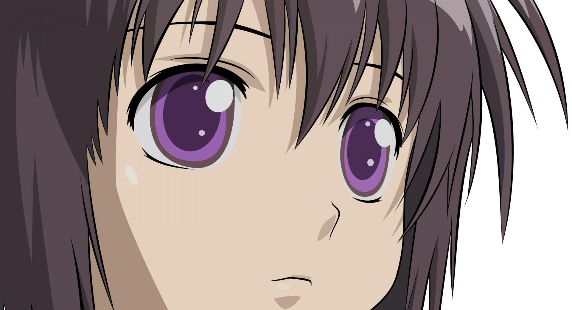 Girl With Purple Eyes Anime wallpapers HD quality