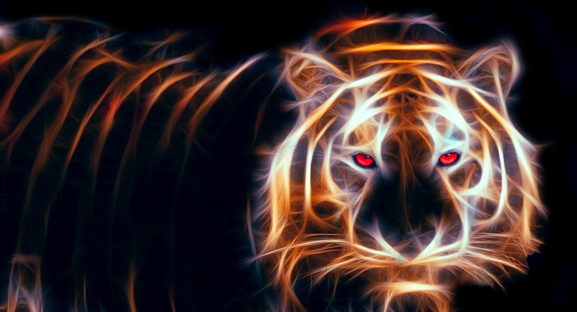 Glowing Tiger wallpapers HD quality