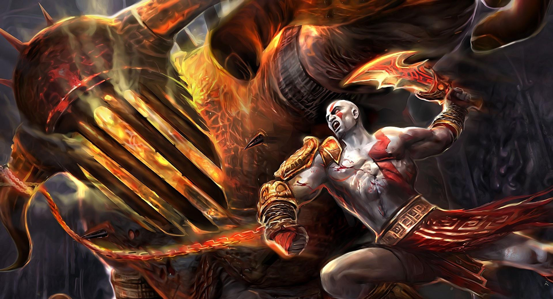 God Of War Fighting wallpapers HD quality