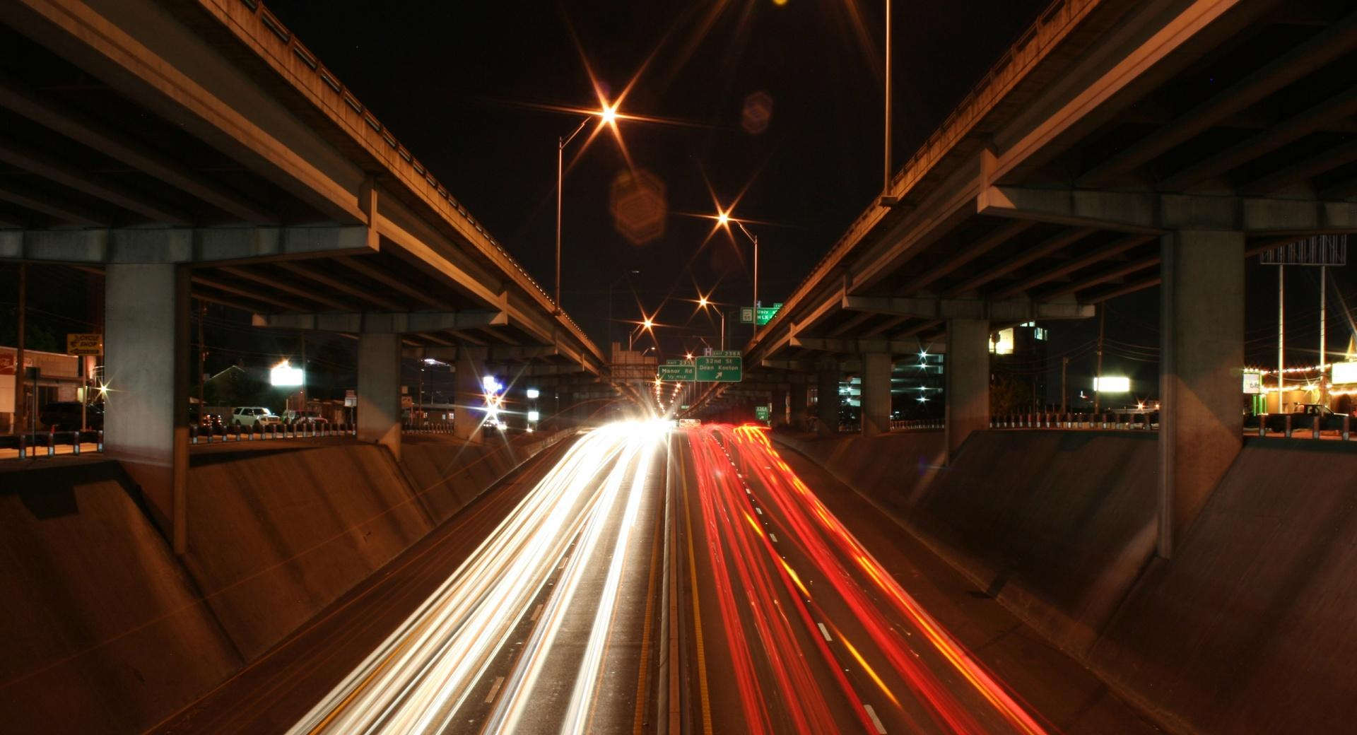 Highways At Night wallpapers HD quality