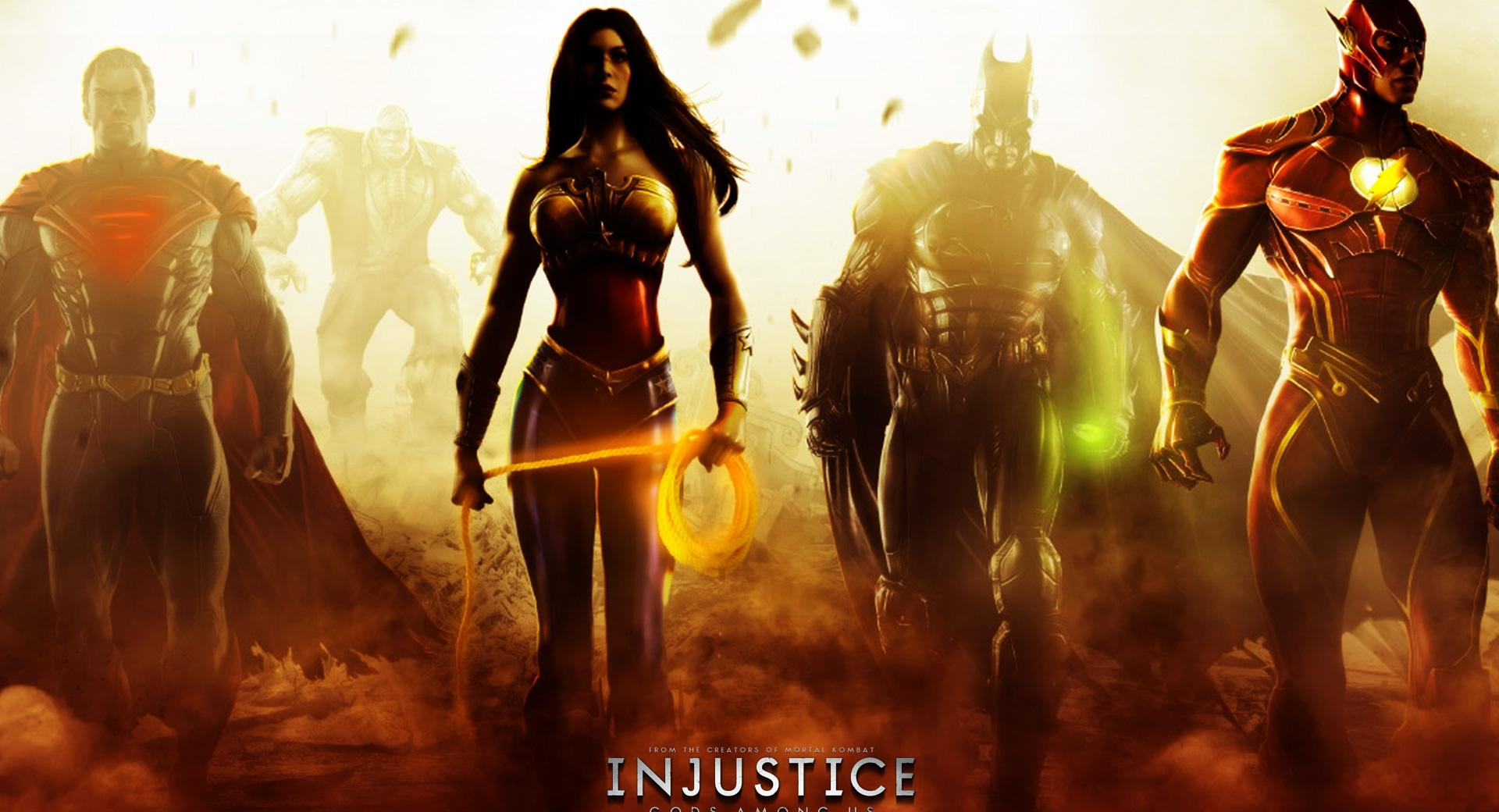 Injustice Gods Among Us (2013) wallpapers HD quality