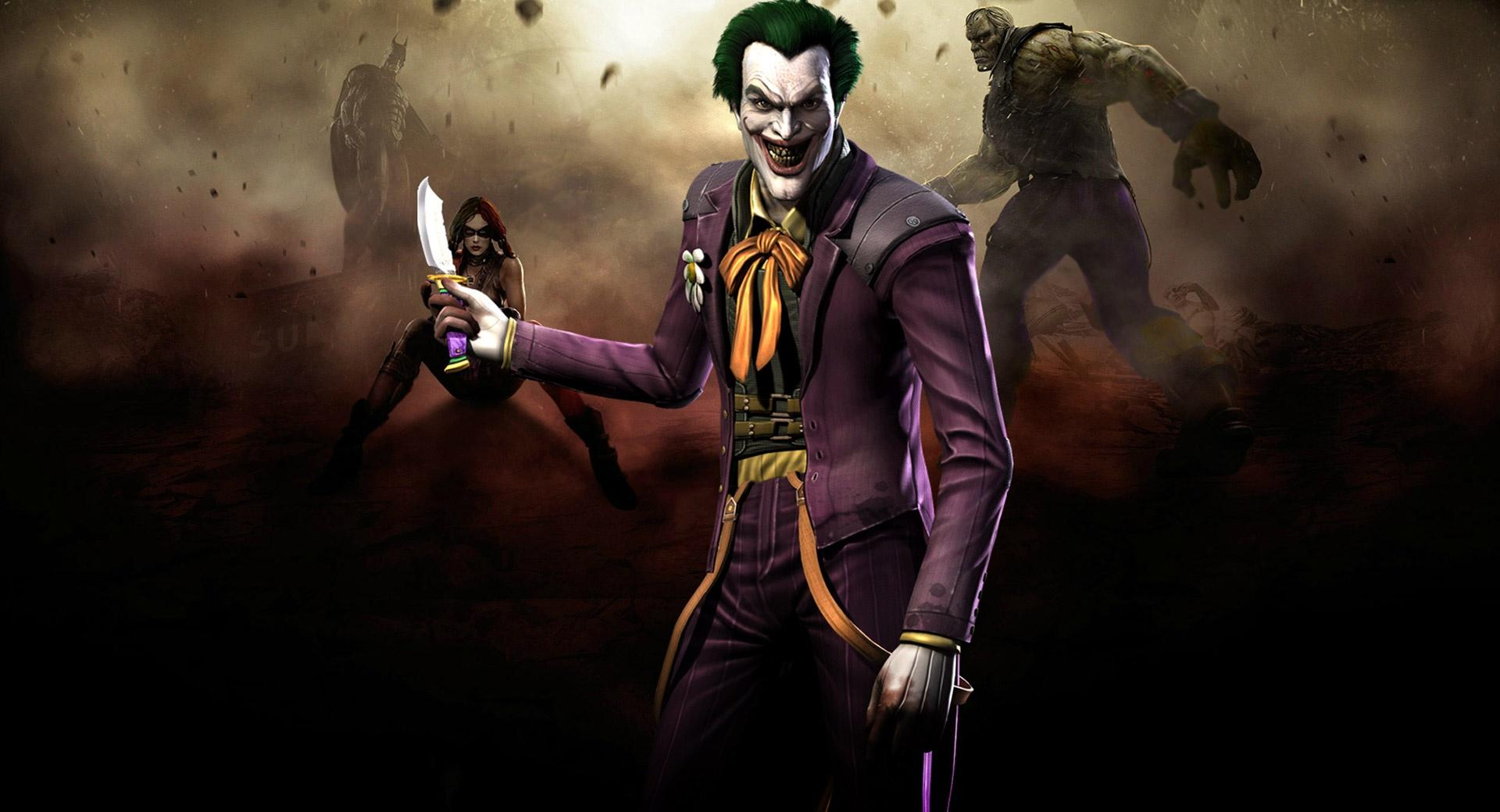 Injustice Gods Among Us - Joker wallpapers HD quality
