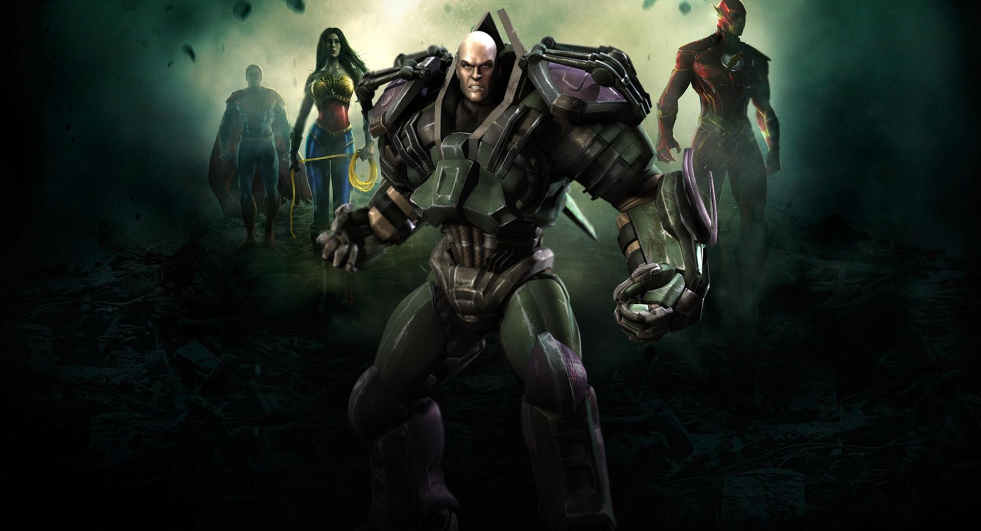 Injustice Gods Among Us - Lex Luthor wallpapers HD quality