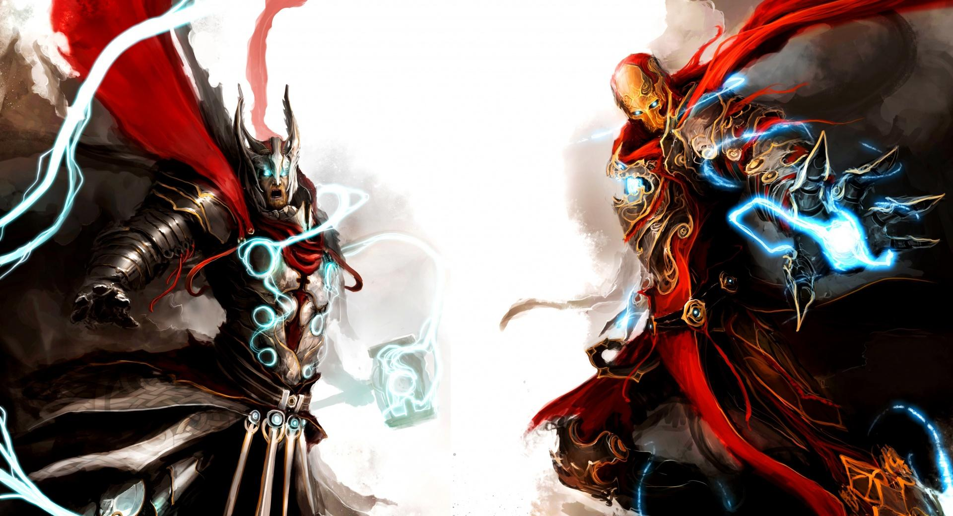 Iron Man and Thor wallpapers HD quality
