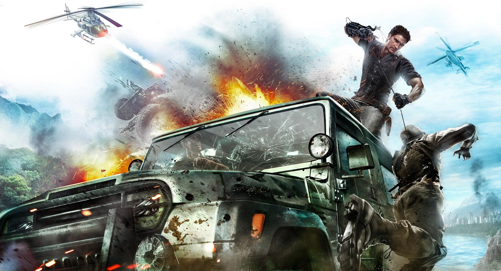 Just Cause 2 Game wallpapers HD quality