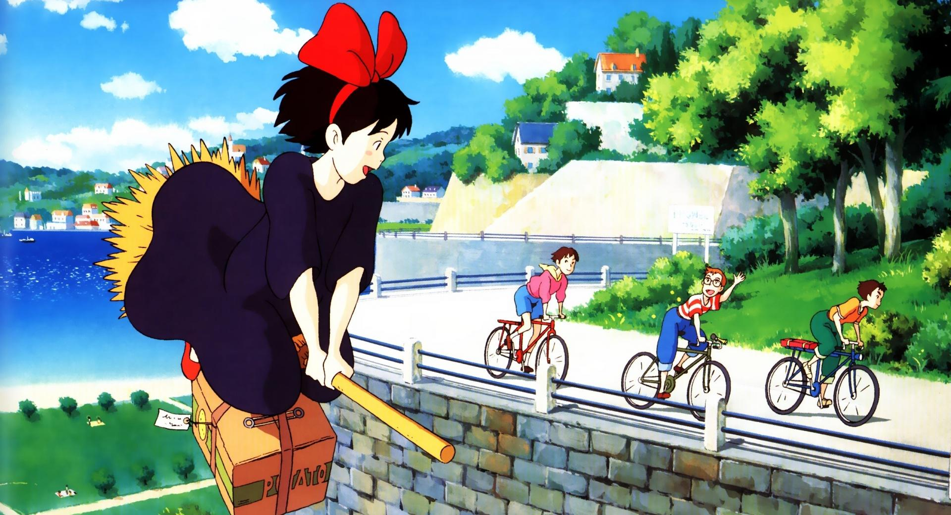 Kikis Delivery Service wallpapers HD quality