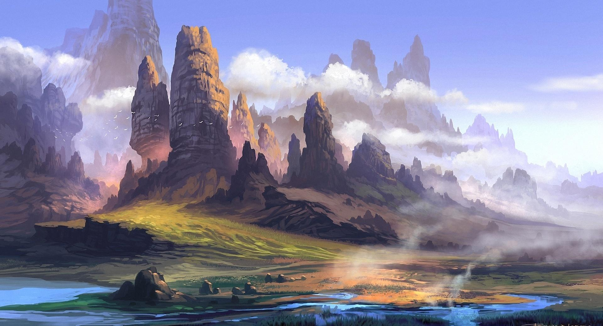 Landscape Painting wallpapers HD quality