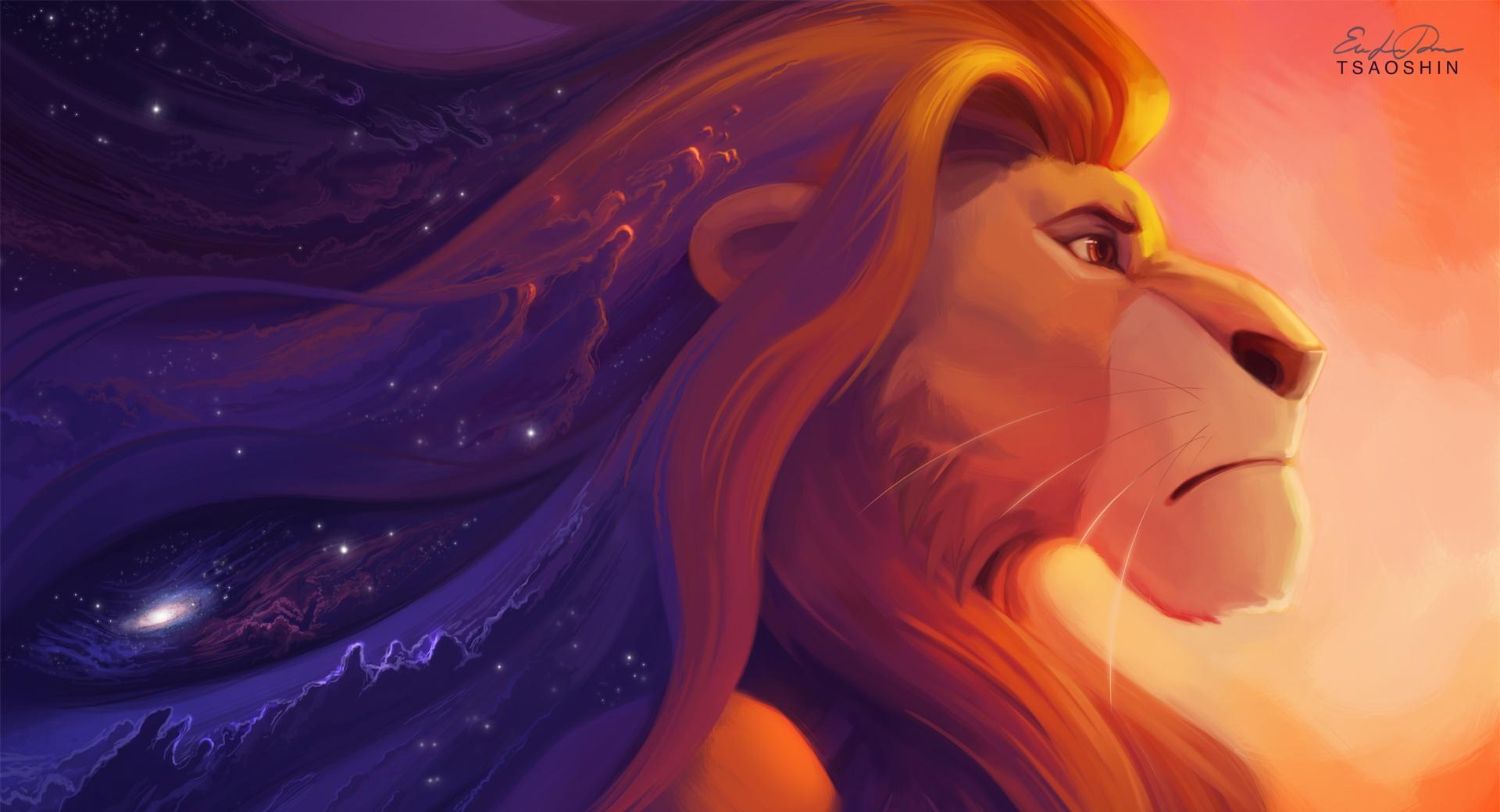Lion King Painting wallpapers HD quality
