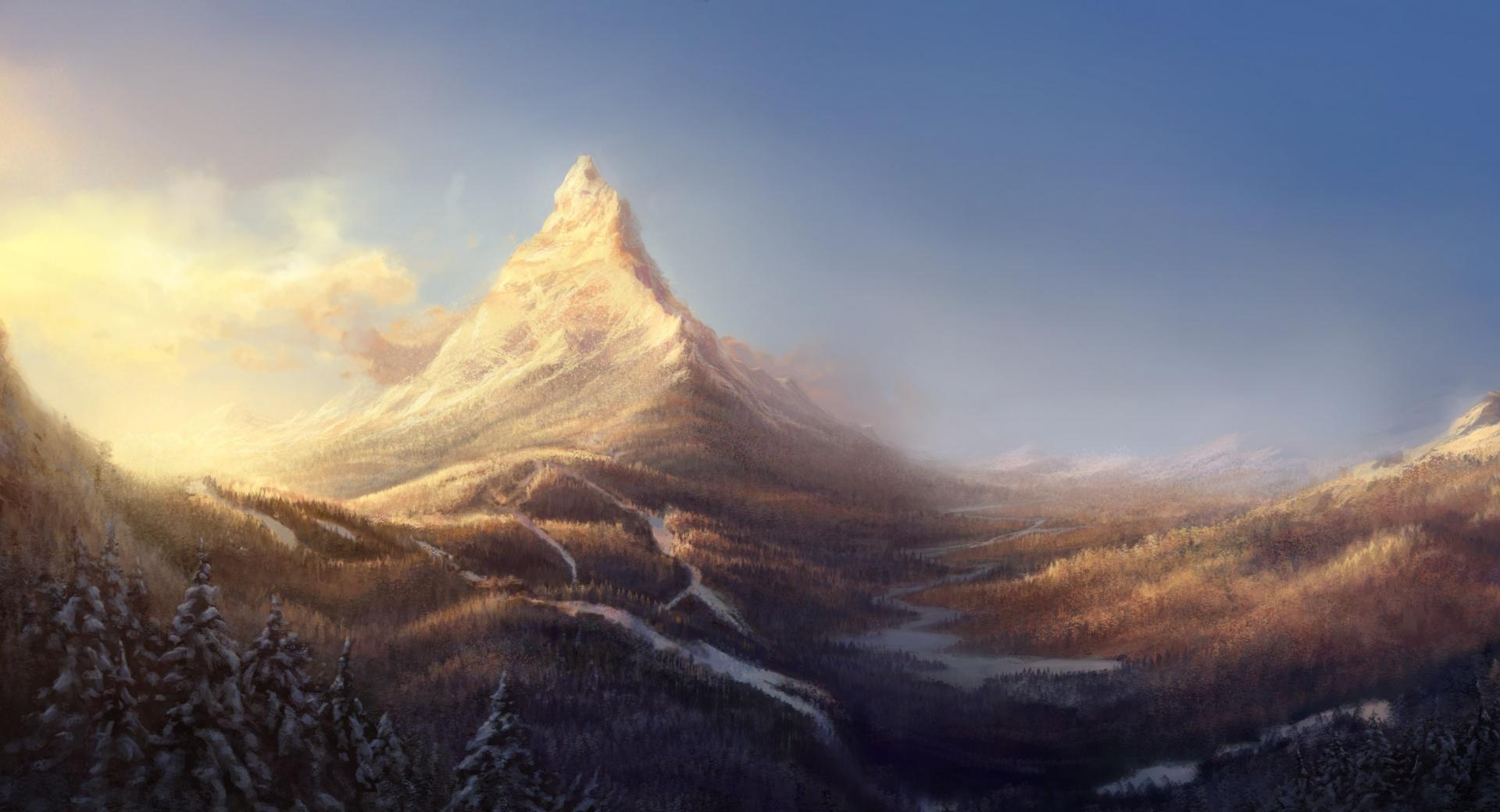 Mountain Peak wallpapers HD quality