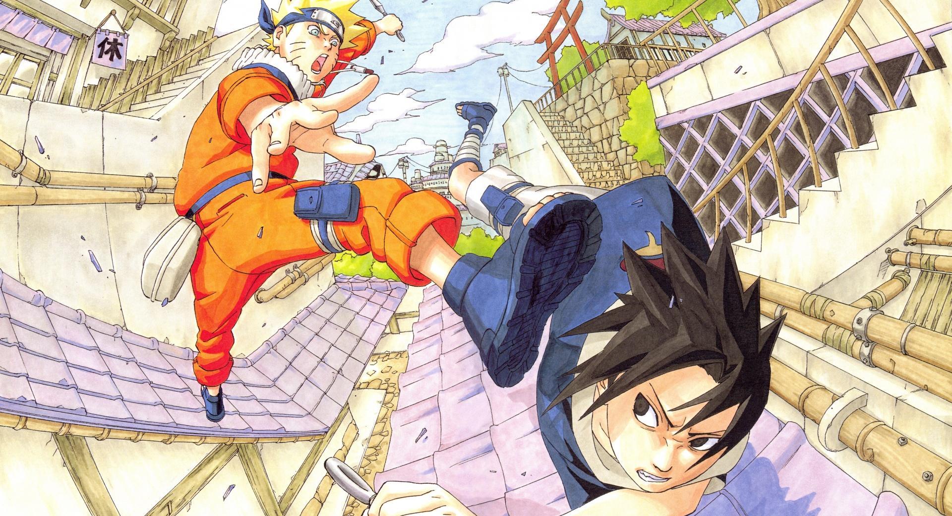 Naruto vs Sasuke - Part 1 wallpapers HD quality