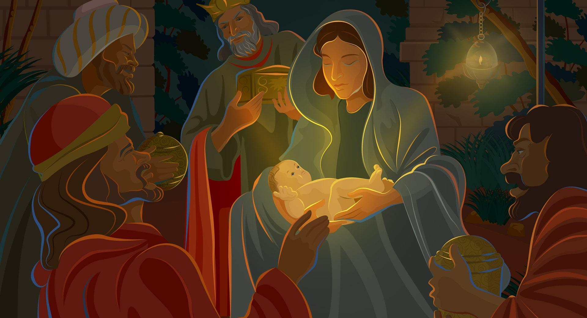 Night Of Jesus Christ Birth wallpapers HD quality
