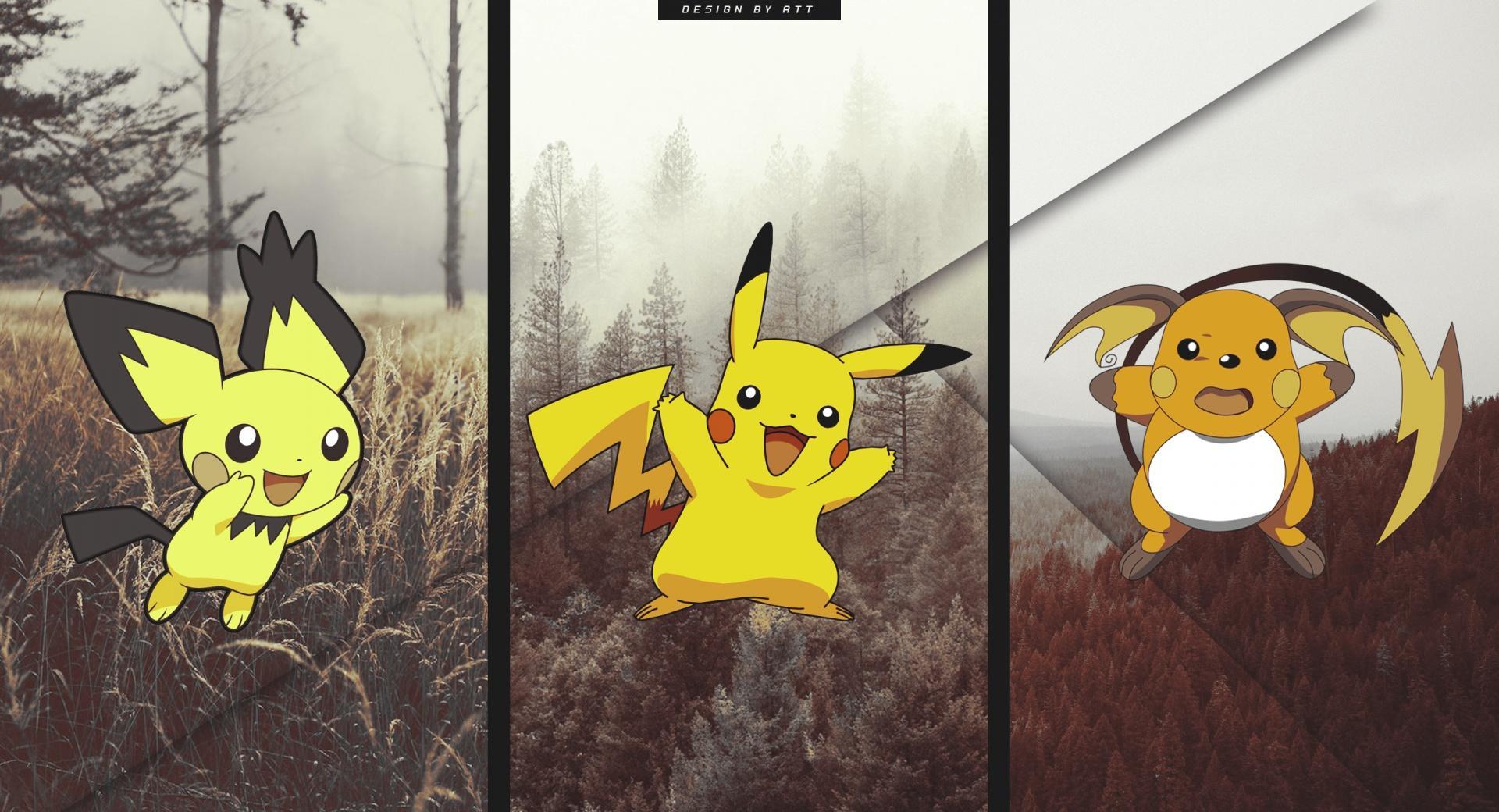Pokemon Pichu Evolution wallpapers HD quality