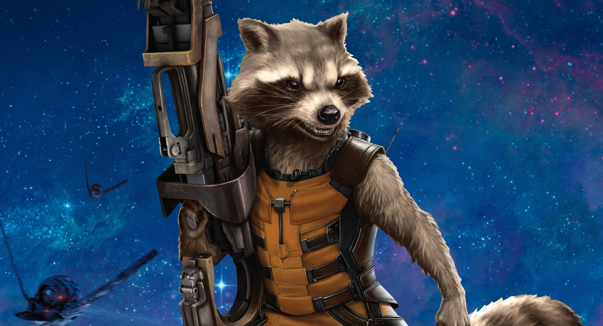 Rocket Raccoon 2014 wallpapers HD quality