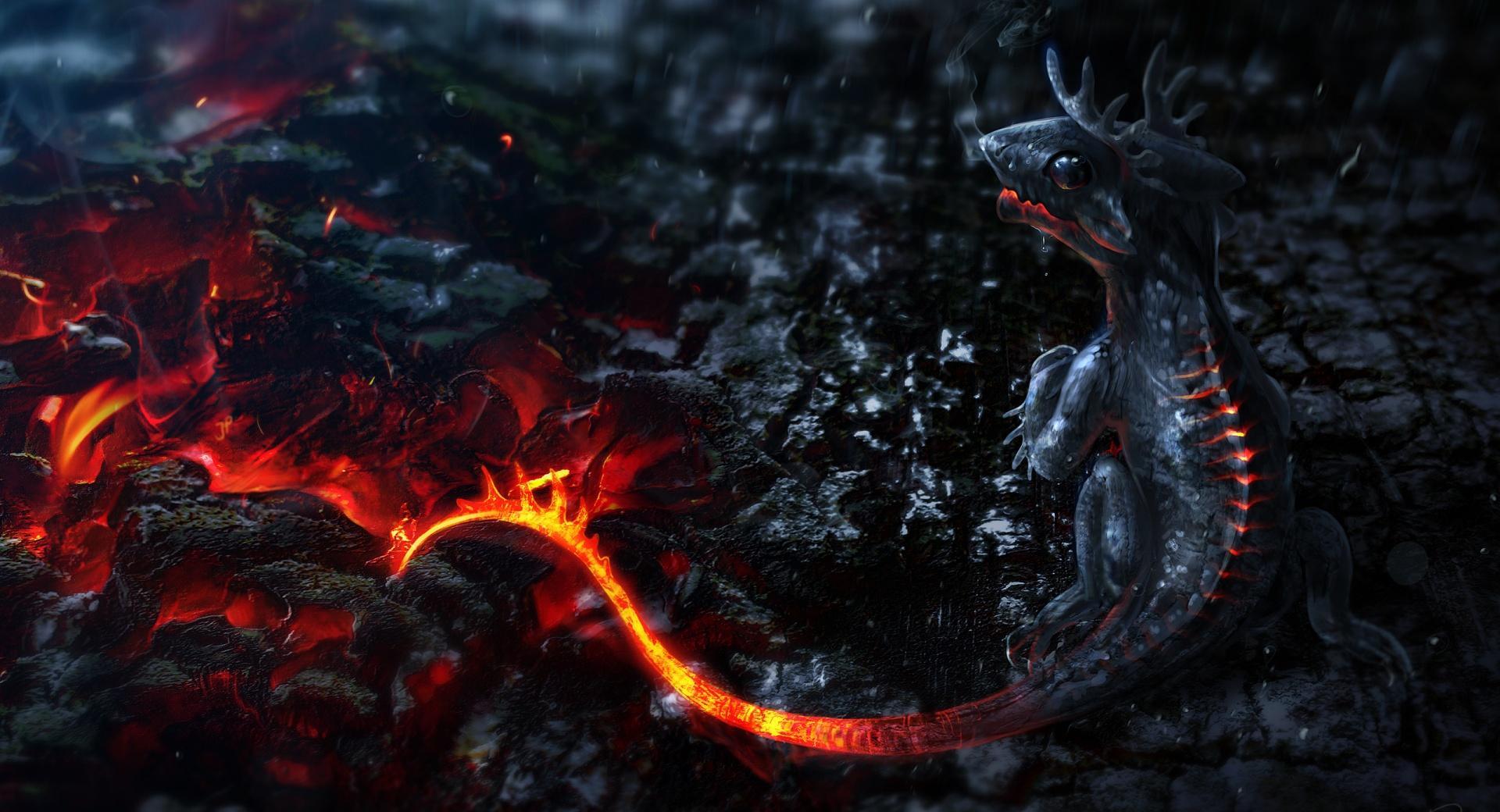 Salamander Artwork wallpapers HD quality