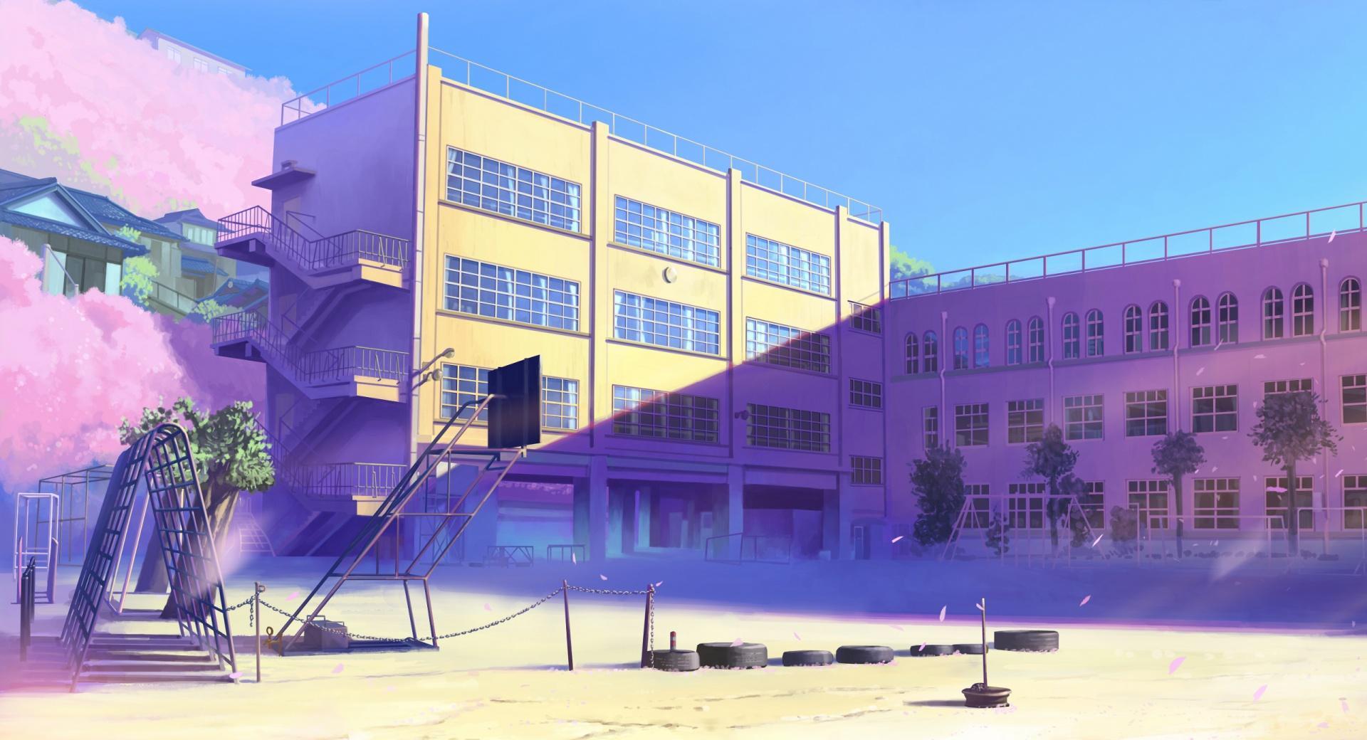 Schoolyard Manga wallpapers HD quality