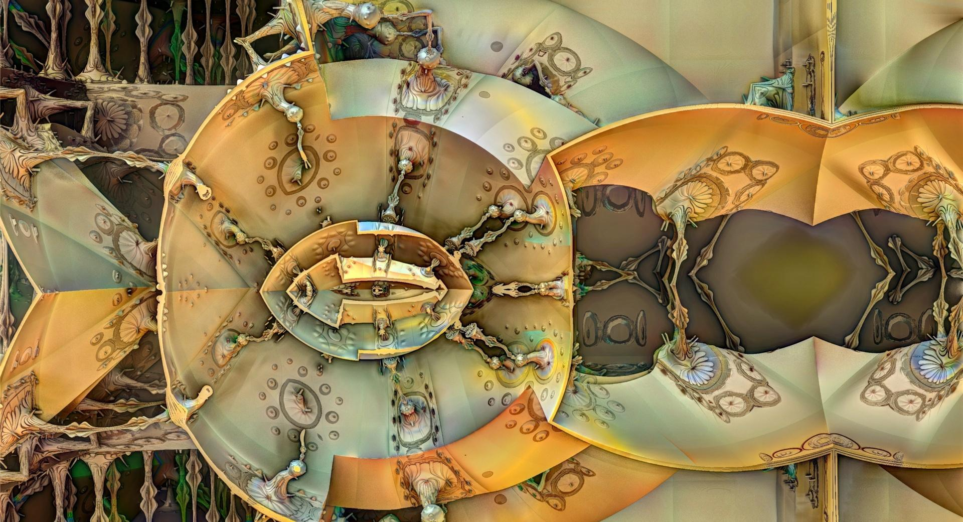 Steampunk Fractals wallpapers HD quality