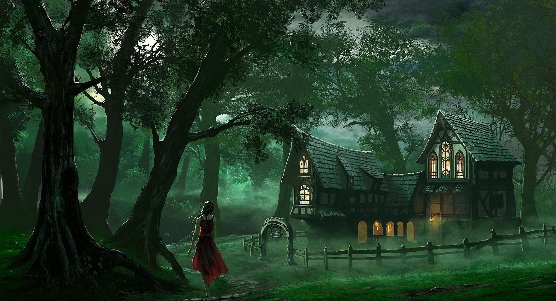 The Forest House wallpapers HD quality