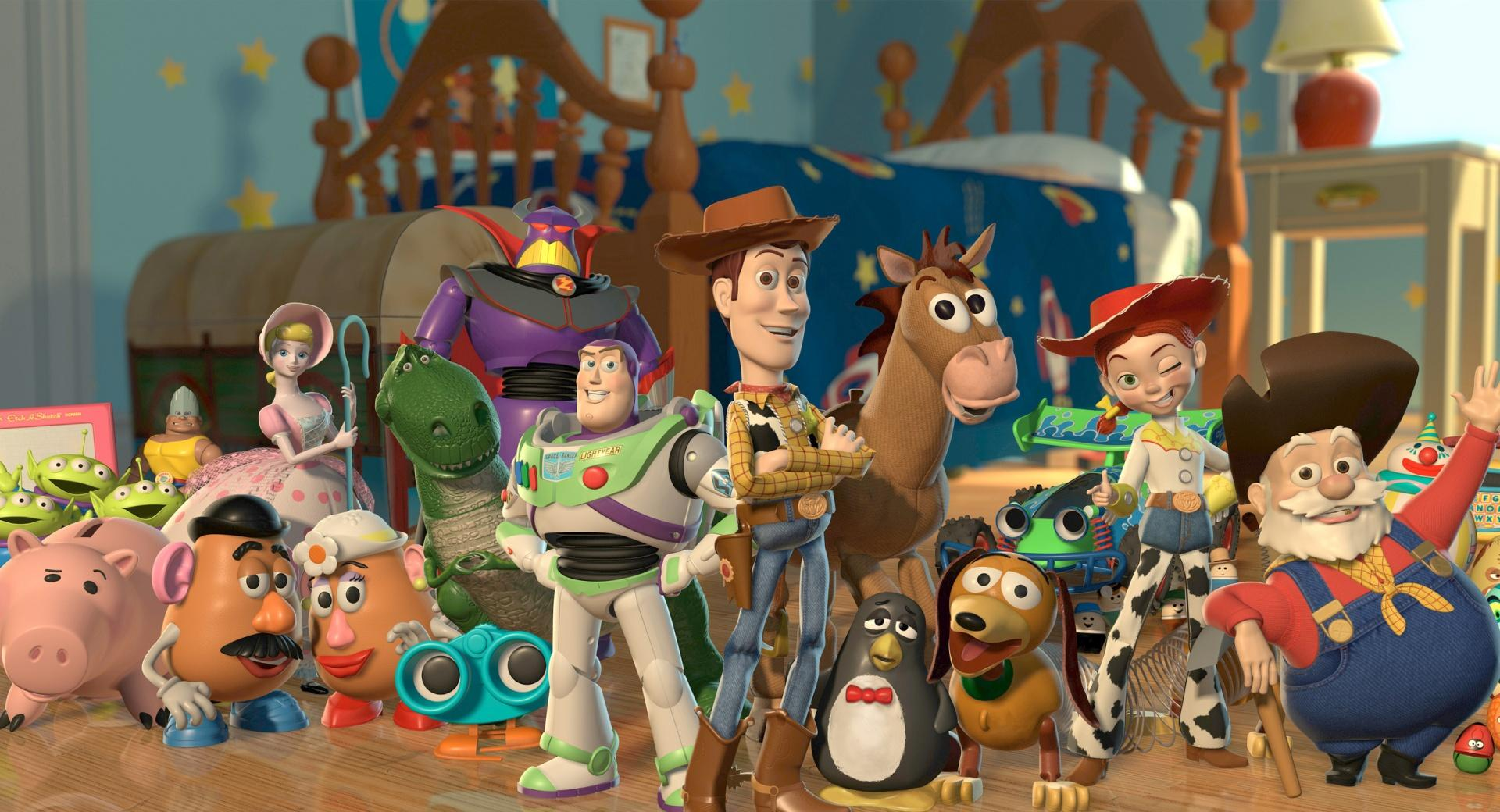 Toy Story 2 Characters wallpapers HD quality