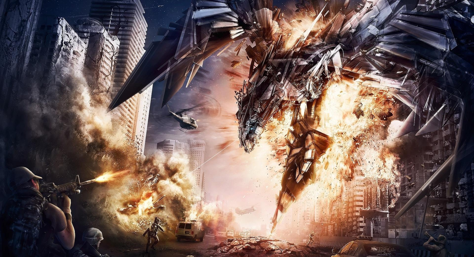 Transformers 4 Artwork wallpapers HD quality