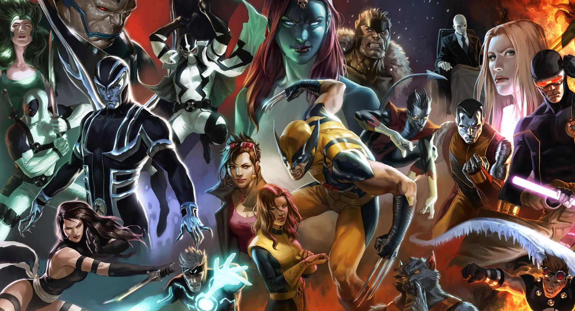X-Men Characters wallpapers HD quality