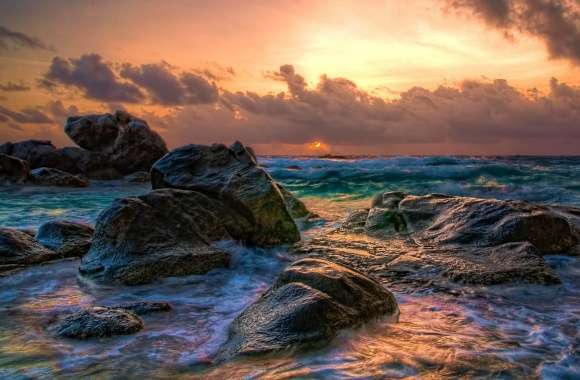 Aruba Sunrise wallpapers hd quality