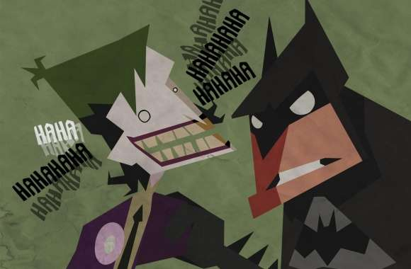 Batman And Joker Cartoon wallpapers hd quality
