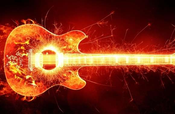 Blazing Guitar wallpapers hd quality