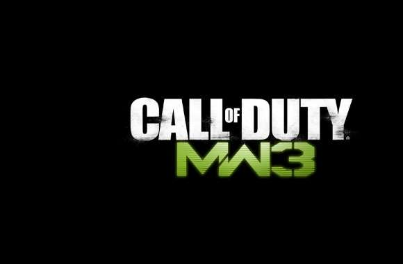 Call Of Duty MW3 Logo