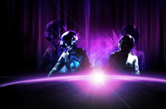 Daft Punk Purple (Live) wallpapers hd quality