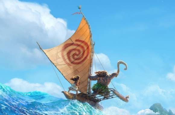 Disney Moana 2016 Animation wallpapers hd quality