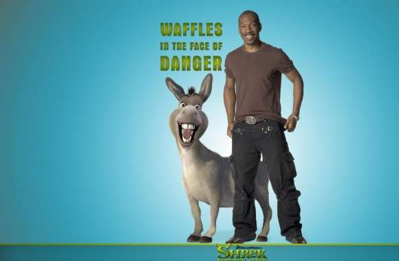 Eddie Murphy as Donkey, Shrek Forever After wallpapers hd quality
