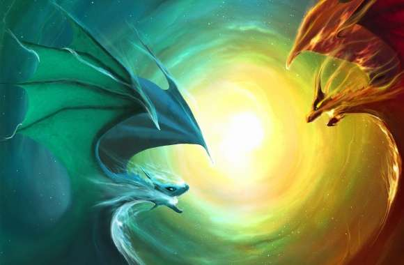 Fire Dragon Vs Water Dragon
