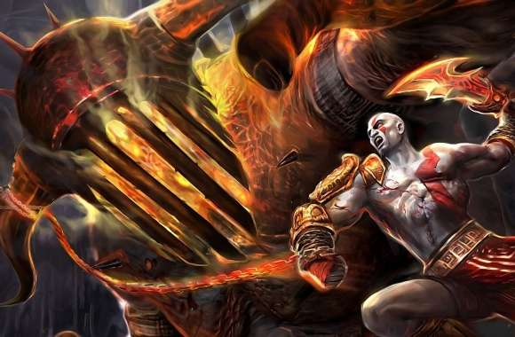 God Of War Fighting