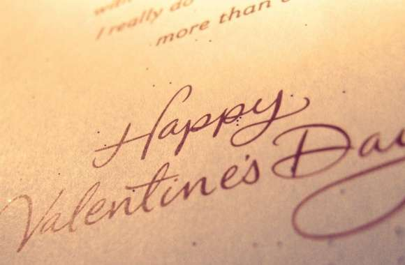 Happy Valentines Day Typography wallpapers hd quality