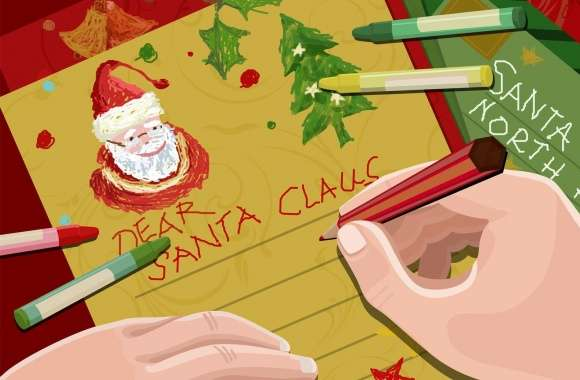 Letter For Santa Claus Christmas wallpapers hd quality