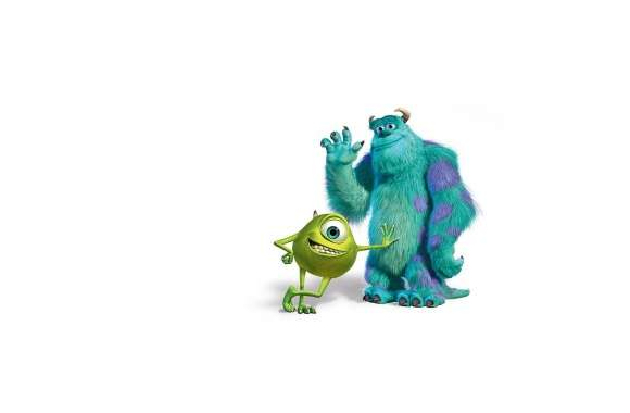 Monsters Inc Sulley And Mike wallpapers hd quality