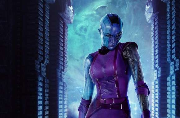 Nebula - Guardians Of The Galaxy 2014 Movie