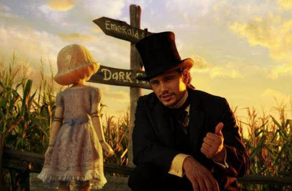 Oz The Great and Powerful - China Girl and Oscar
