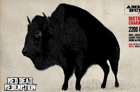 Red Dead Redemption American Buffalo