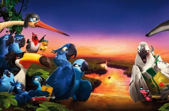 Rio 2 Amazon Rainforest Journey wallpapers hd quality