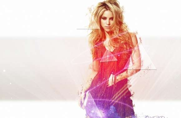 Shakira Light effects