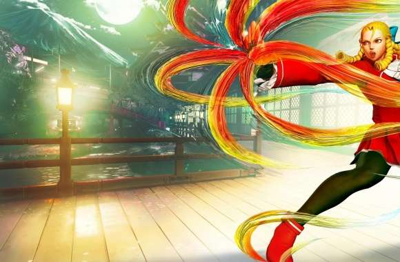 Street Fighter V Karin 2016 Video Game wallpapers hd quality