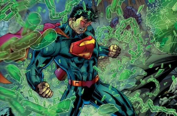 Superman, Batman, Green Lantern fight wallpapers hd quality