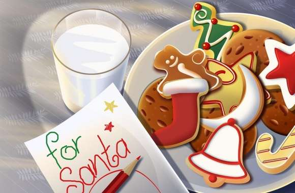 Sweets For Santa wallpapers hd quality