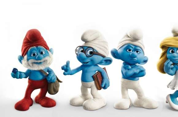 The Smurfs Characters wallpapers hd quality