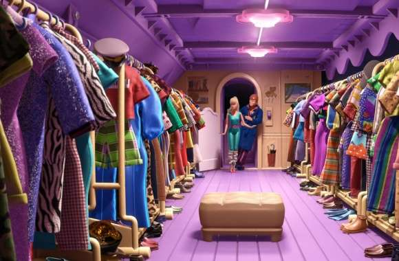 Toy Story 3 Barbie and Ken Scene wallpapers hd quality