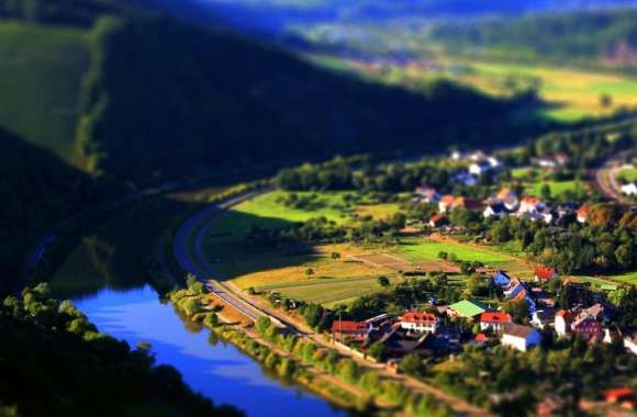 Village Tilt Shift