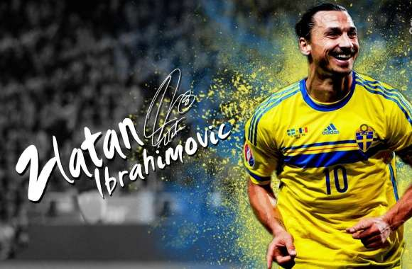 Zlatan Ibrahimovic Sweden - 2016 wallpapers hd quality