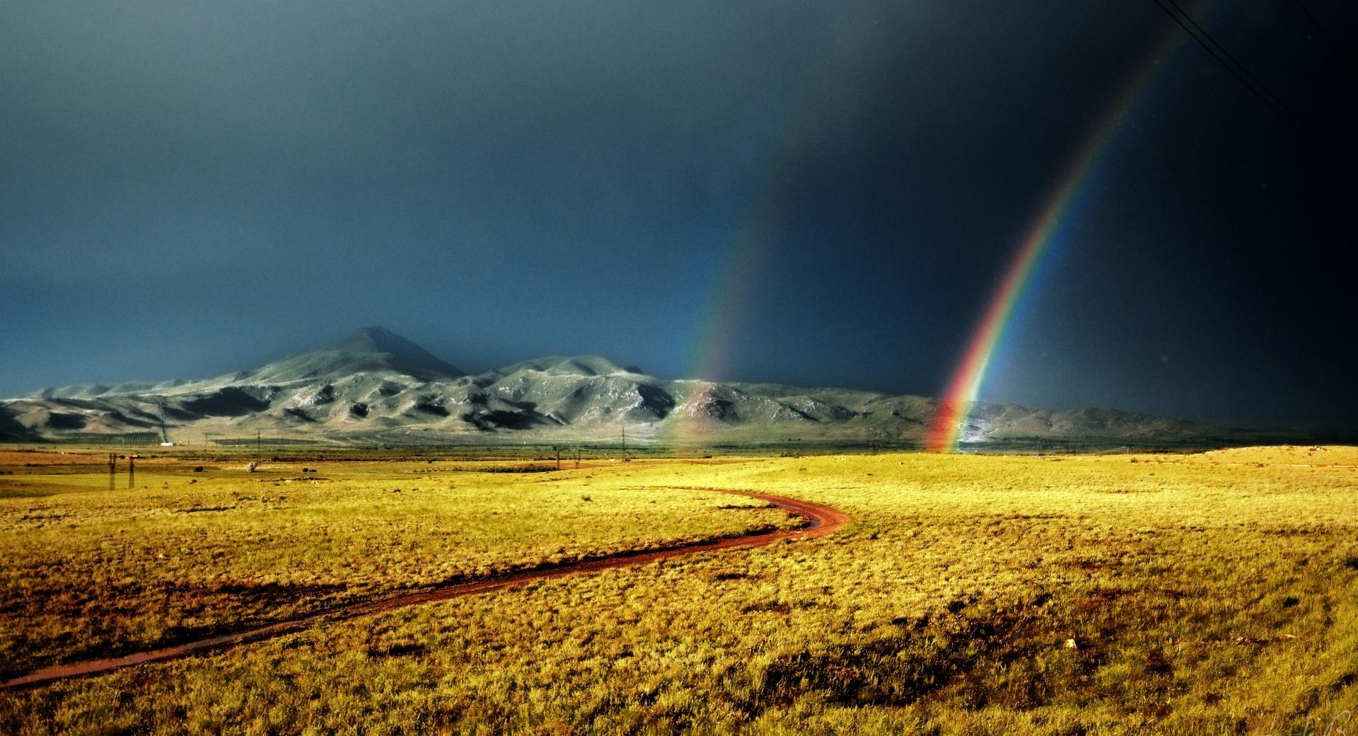 Armenia Rainbow wallpapers HD quality